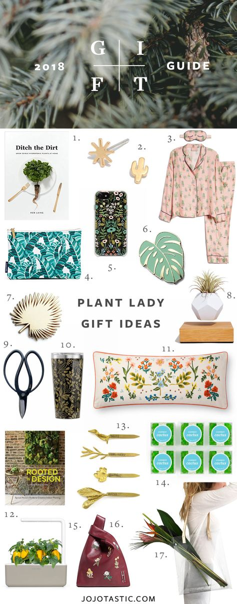 Plant Lady Gift Ideas, Gift Guide for Christmas
