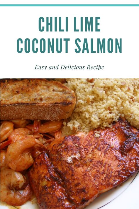 How to Make Chili Lime Coconut Salmon Recipe  #salmon #chililimesalmon By: ☆Jess☆