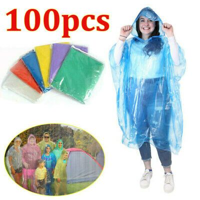 Disposable Raincoat Rain Pants Waterproof Rain Poncho for Outdoor Hiking Camping