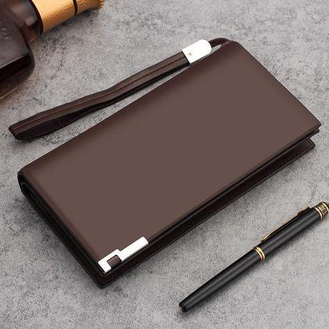 4b8303d67 curewe kerien Top Quality leather long wallet men pruse male clutch zipper  around wallets men women money bag pocket ction