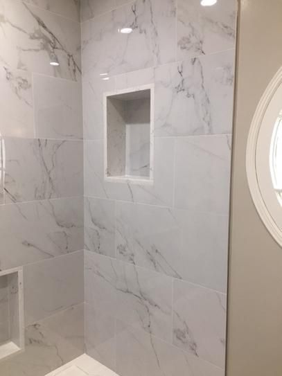 Home Decorators Collection 12 In X 24 In Carrara Polished