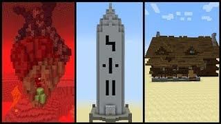 5 Minecraft Structure Ideas