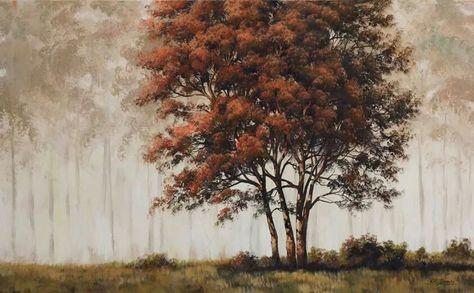 Tim Gagnon Painting Art Painting Tree Painting