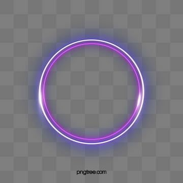 Light Luminous Efficiency Creative Double Border Luminescence Circular Simple Violet Line Wir Frame Clipart Graphic Design Background Templates Geometric Lines
