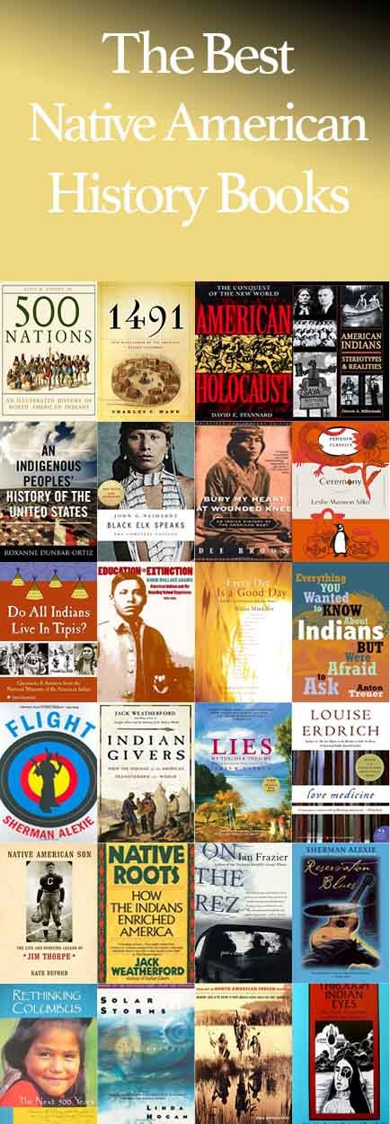 The Best Native American History Books - Book Scrolling