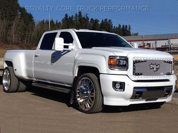 GMC Denali 3500 Dually with 24in American Force Shift Wheels