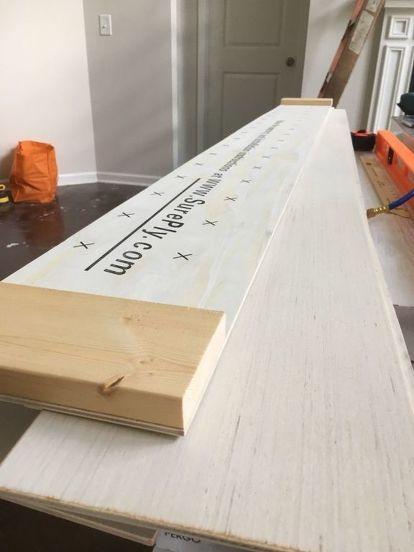 How To Make A Diy Shiplap Wall Shiplap Wall Diy Ship Lap Walls Diy Shiplap