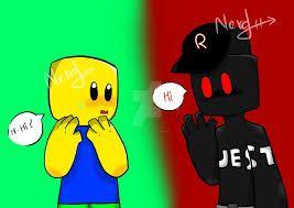 Noob Meeting Guest Roblox Memes Roblox Noob
