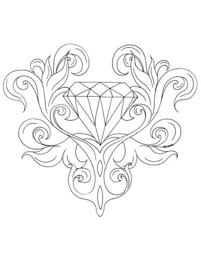 Free Coloring Pages Cleverpedia S Coloring Page Library Rose