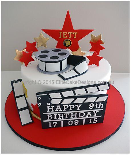 The  Best Hollywood Cake Ideas On Pinterest Hollywood Cake - Movie themed birthday cake