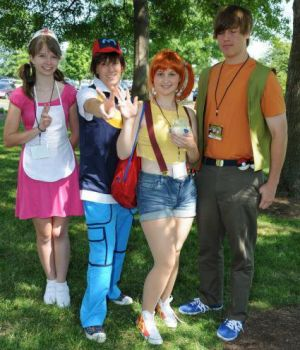 Pokemon Characters Group Costume Idea #Group #Halloween #Costumes | Halloween Costumes | Pinterest | Group halloween Halloween costumes and Costumes  sc 1 st  Pinterest & Pokemon Characters Group Costume Idea #Group #Halloween #Costumes ...