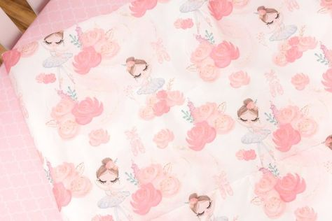 This Sweet Ballerina Comforter Comes In Sizing Big Enough For A