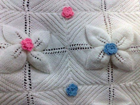 Knitting Baby Blanket Blanket Knitting Patterns Pinterest