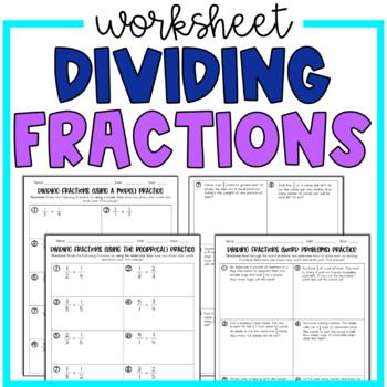 Pin By Lisa Thayer On 6th Grade Math Fraction Practice Fraction Word Problems Word Problem Worksheets Reciprocal math worksheets grade