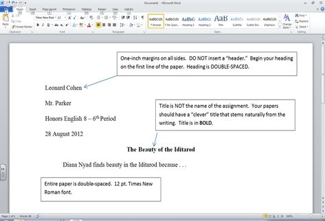 ... Conclusion Paragraph Format Research Paper WorksCited4U Provides   One  Inch Margins ...