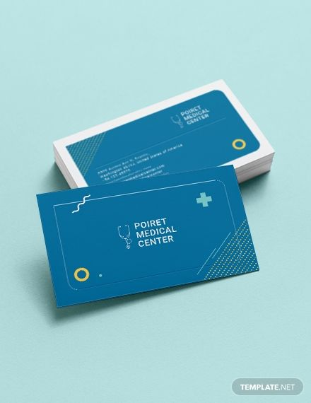 Creative Medical Business Card Template Word Doc Psd Apple Mac Pages Publisher Illustrator Medical Business Card Student Business Cards Business Card Template Word