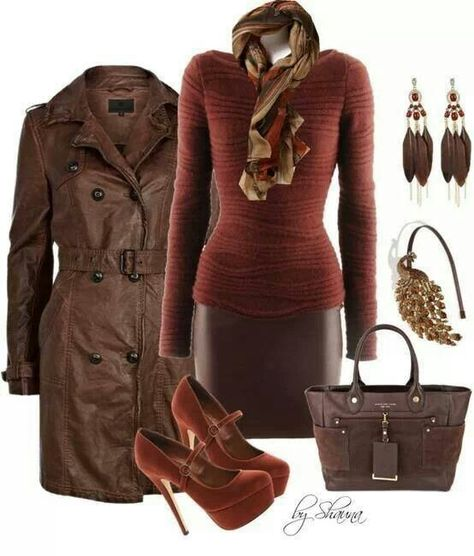 Love this fall outfit for work