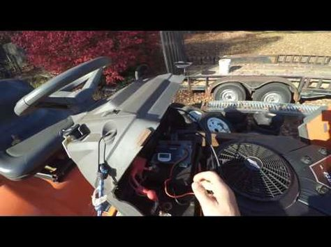 LAWN TRACTOR ELECTRICAL PROBLEM REPAIRED - YouTube | riding