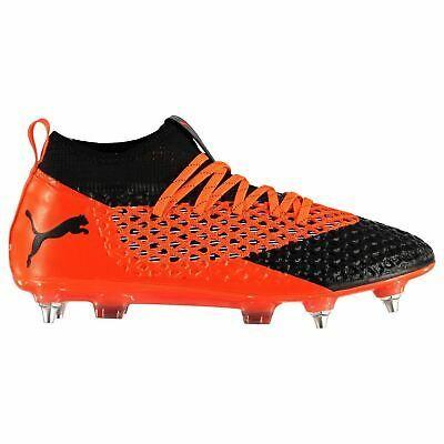 Puma Future 2 2 Sg Soft Ground Football Boots Mens Orange Soccer Shoes Cleats In 2020 Puma Football Boots Soccer Shoes Mens Football Boots