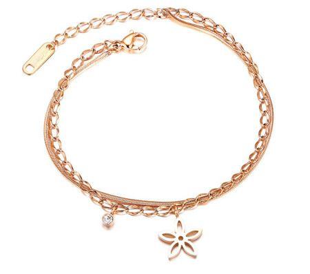 599 934 Bransoletka Pozlacana Serduszko Mak Bizuteria Pl Jewelry Gold Bracelet Bracelets