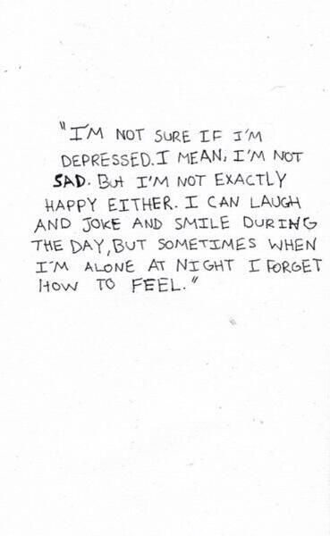 Why do I even have feelings?..