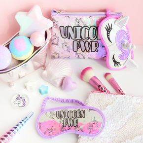 Unicorn Pwr Beauty Accessories Set Unicorn Fashion Unicorn Room Decor Unicorn Gifts