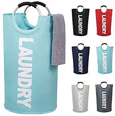 Amazon Com Large Laundry Basket Collapsible Fabric Laundry Hamper