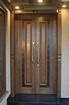 Kusen 2 Pintu Entrance Door Design Double Door Design Main Door Design