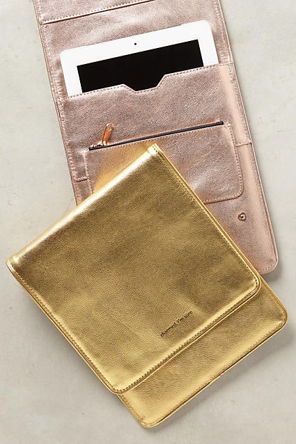 Metallic Idiom iPad Case