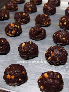 Resep Famous Amos Cookies Simple Monic S Simply Kitchen Kue Kering Mentega Resep Biskuit Makanan Manis