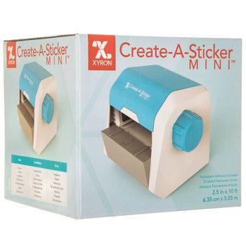 Create A Sticker Mini Machine Hobby Lobby 477729 Create A Sticker Sticker Machine Sticker Maker
