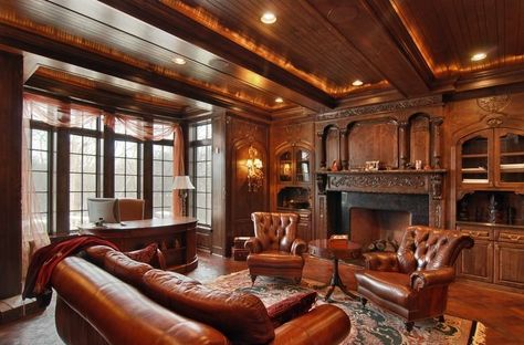 Victorian: study and lounge on Pinterest | 90 Pins