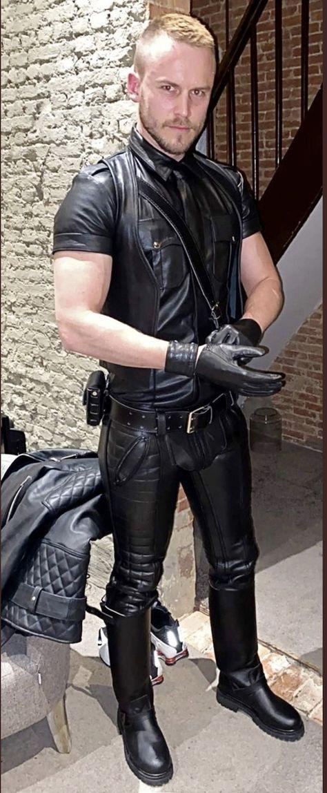 Gay leder Men's Leather