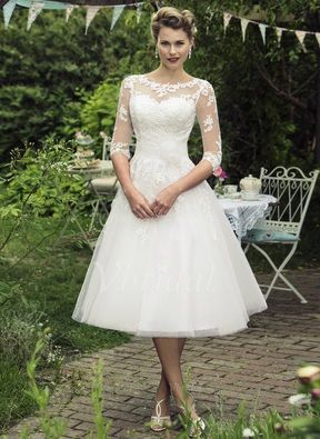 Wedding Dresses Vintage Best Photos Tea Length Dress And Brighton