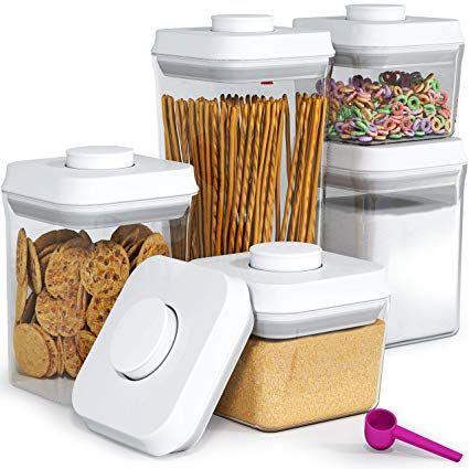 Amazon Com Pop Lock Air Tight Food Storage Containers Pop 5