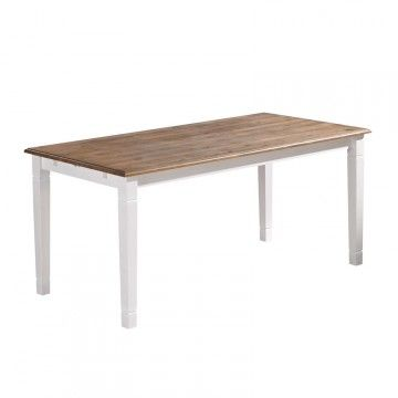 Lacquered Pine Dining Table Table Salle A Manger Meuble Salle A Manger Et Salle A Manger