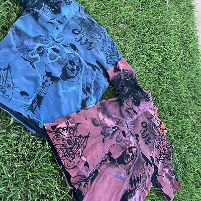 Rare Vintage Ozzy Osbourne All Over Print T Shirt Package Red Blue Version L Xl Ebay In 2020 Shirt Packaging Ozzy Osbourne Tshirt Packaging