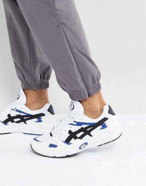 Asics Gel Diablo Og Trainers In White Hy7h1 0190 Asics Sneaker Boots Sneakers
