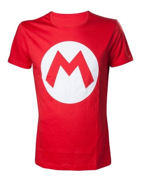 Camiseta Nintendo Roja Mario S Camisetas Camisas Diseno De Poleras