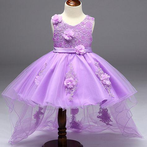 74728adfd812 2017 Baby Girls Infant Embroidery Dress kids Gold Wedding Toddler High-end  Dress Flower Vestidos tutu Formal Party Dress girls #Affiliate