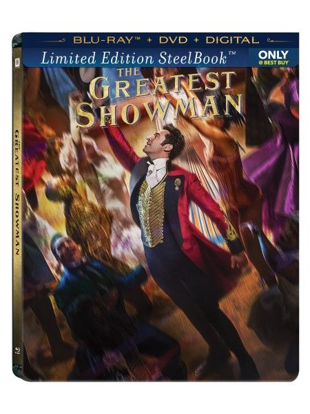 The Greatest Showman Blu Ray Steelbook Best Buy The Greatest Showman Cool Things To Buy Movie Collection