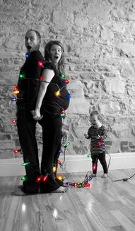 cute christmas photo!! Jess id love to do this with your family!!!