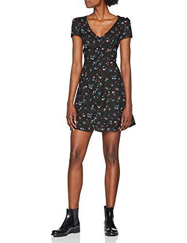 cfe9b969c3 Tally Weijl SDRVIBOUTI Vestito Donna Multicolore (Black-Multi Color ...