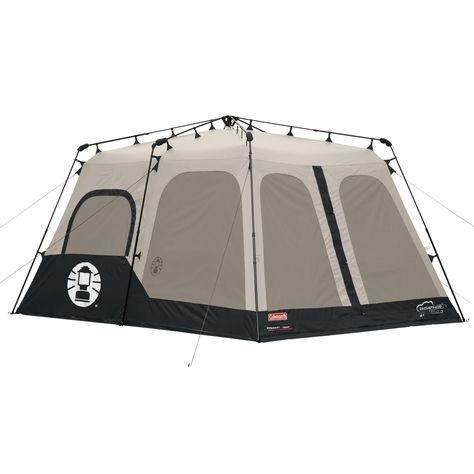 Coleman 2000018295 8 Person Instant Tent Black 14x10 Feet Coleman Tent 8 Person Tent Instant Tent