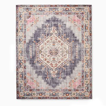 Remy Rug In 2020 Distressed Rugs Rugs Abstract Rug