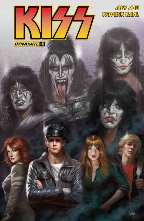 Kiss 4 Kiss World Comics Kiss Band