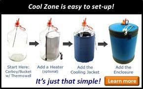 Cool Zone Fermentation Temperature Control Fermentation Home Brewing Craft Beer