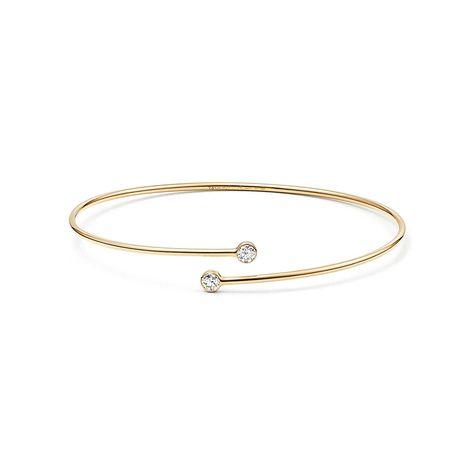 Elsa Peretti®:Diamond HoopBangle