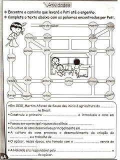 Atividades Historia Do Brasil 3 4 5 Anos Historia Do Brasil