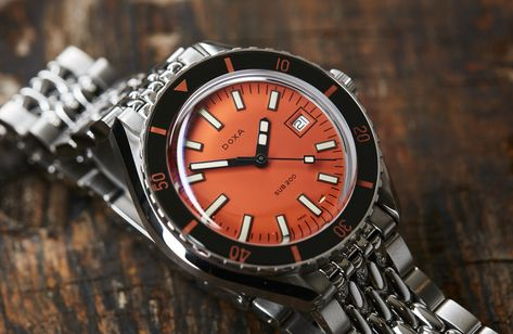 Finding out why the DOXA SUB 200 is THE value proposition of 2019